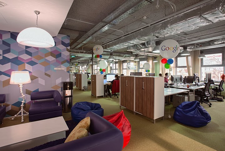 google moscow office pure. Google Fit Out Moscow Office Pure